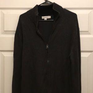 Men's Calvin Klein sweater in navy blue size XL